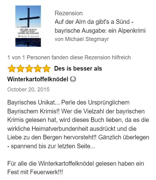 Rezension Alpenkrimi